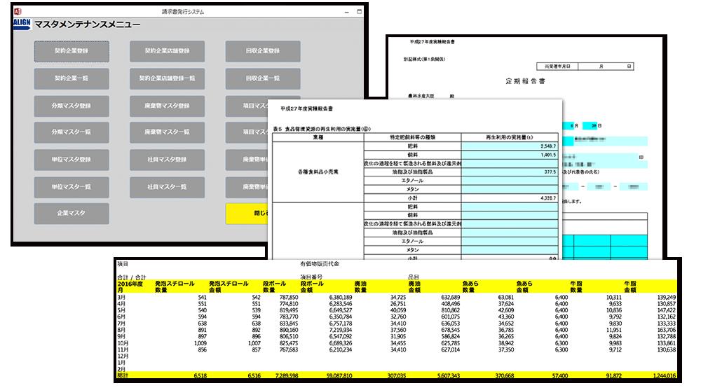 株式会社アライン 排出物関連費用一括集約・支払い代行サービス「AWMS(アウムス)」