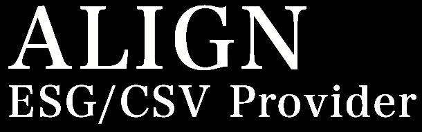 ALIGN ESG/CSV Provider